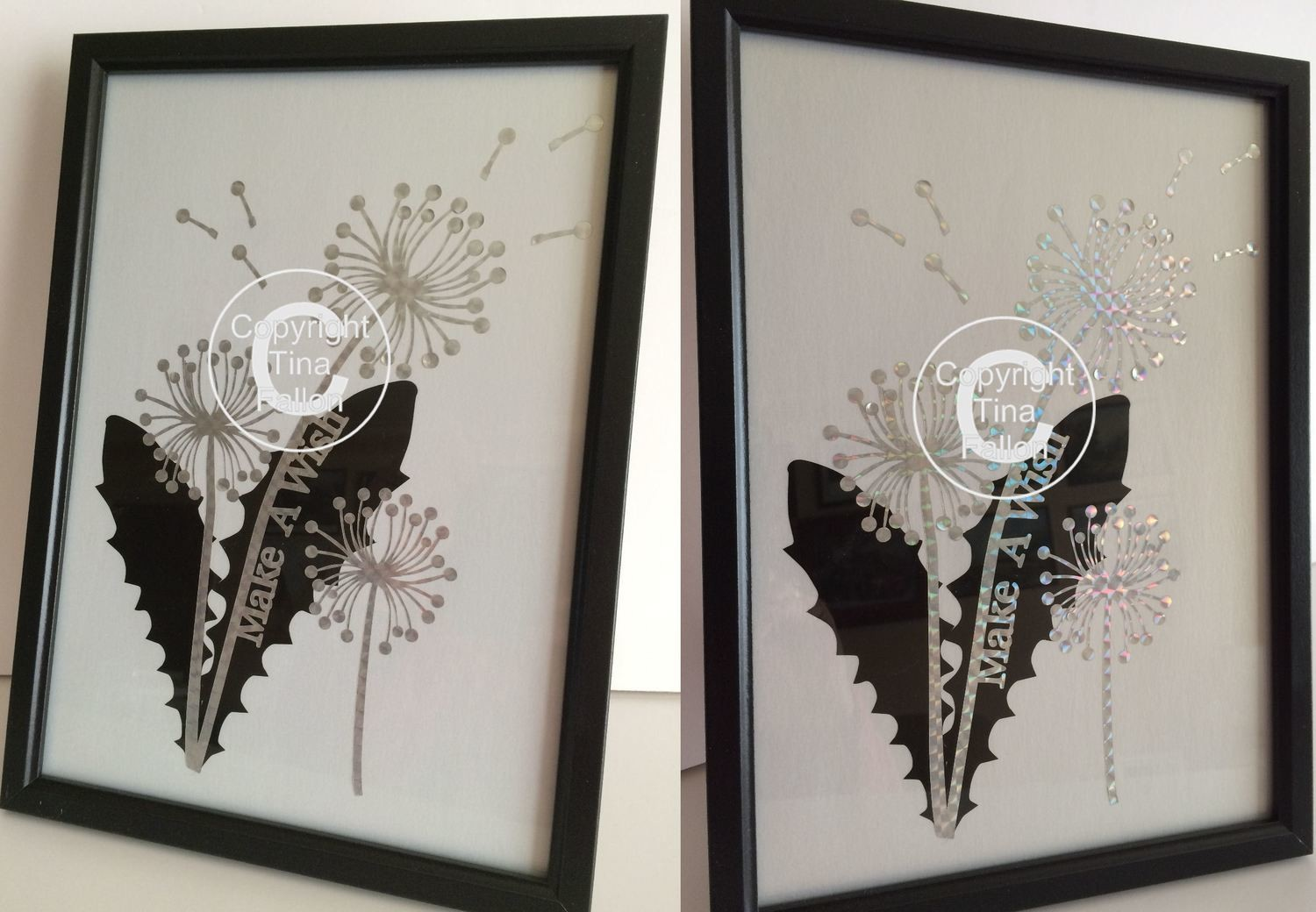 Dandelion Wishes  Word Art 3 SVG/SCAL4 - Cricut compatible.