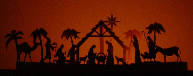 Nativity Luminaire / Decoration  SVG