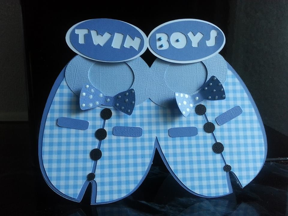 Bib No 2 For Twin Boys
