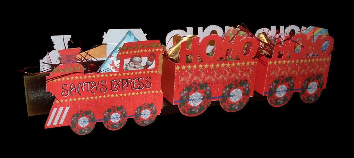 Santa's Express model train Print n Cut