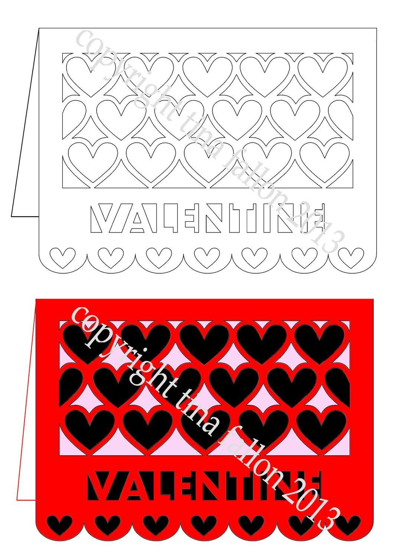 Valentine Card - Heart Together No 1