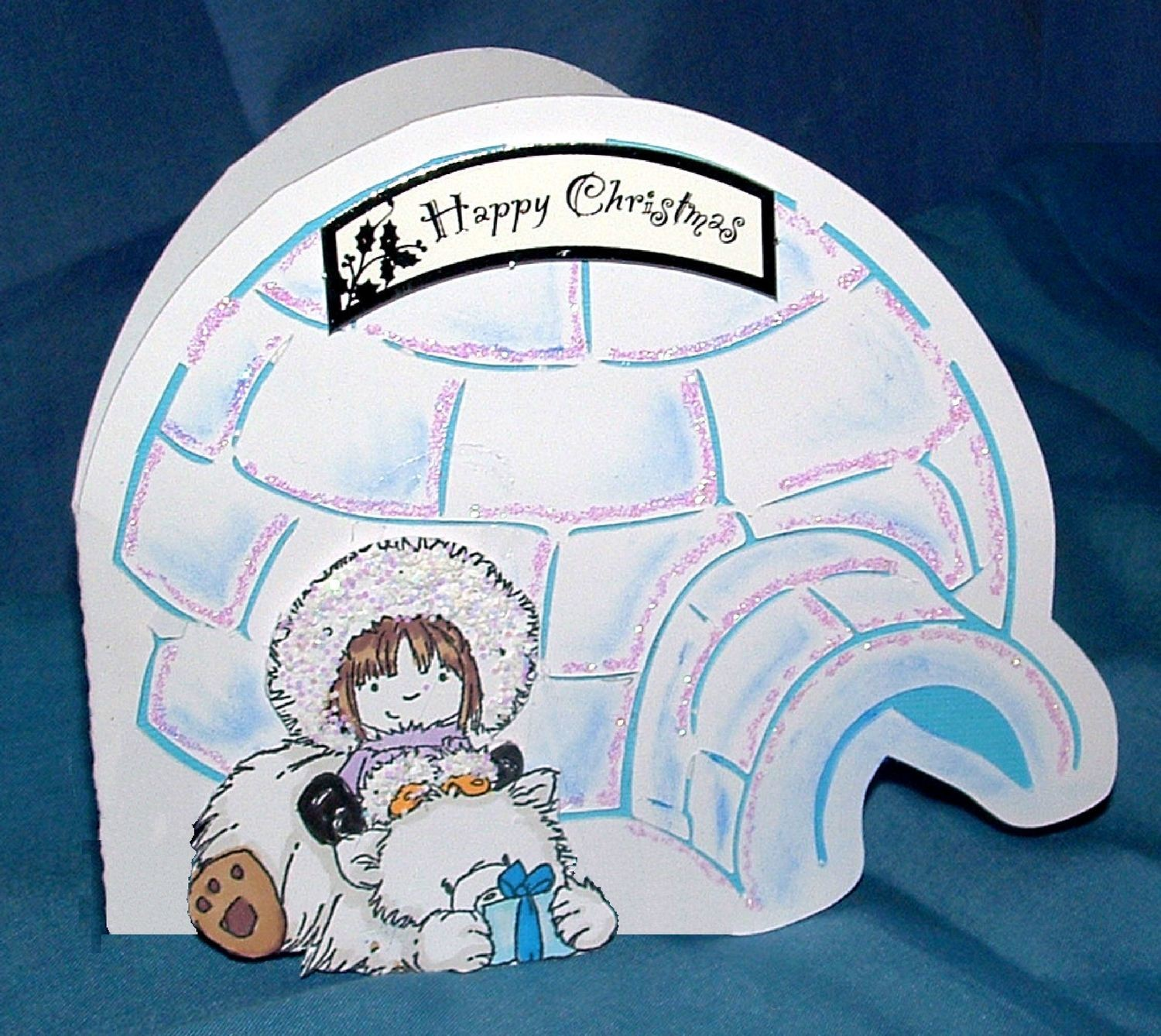 Christmas Igloo Card