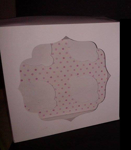Mini Cupcake Box for 4