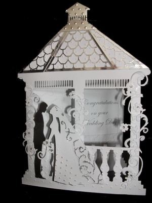 Gazebo 2 - Gazebo shaped card template  FCM Scan n Cut