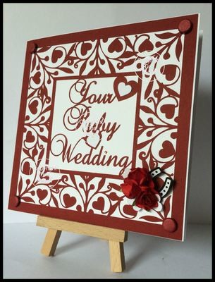 Ruby Anniversary Keepsake 12x12