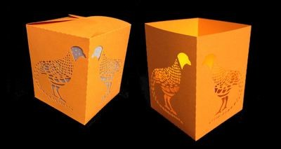 Luminaire or Gift Box Pheasant 2 files