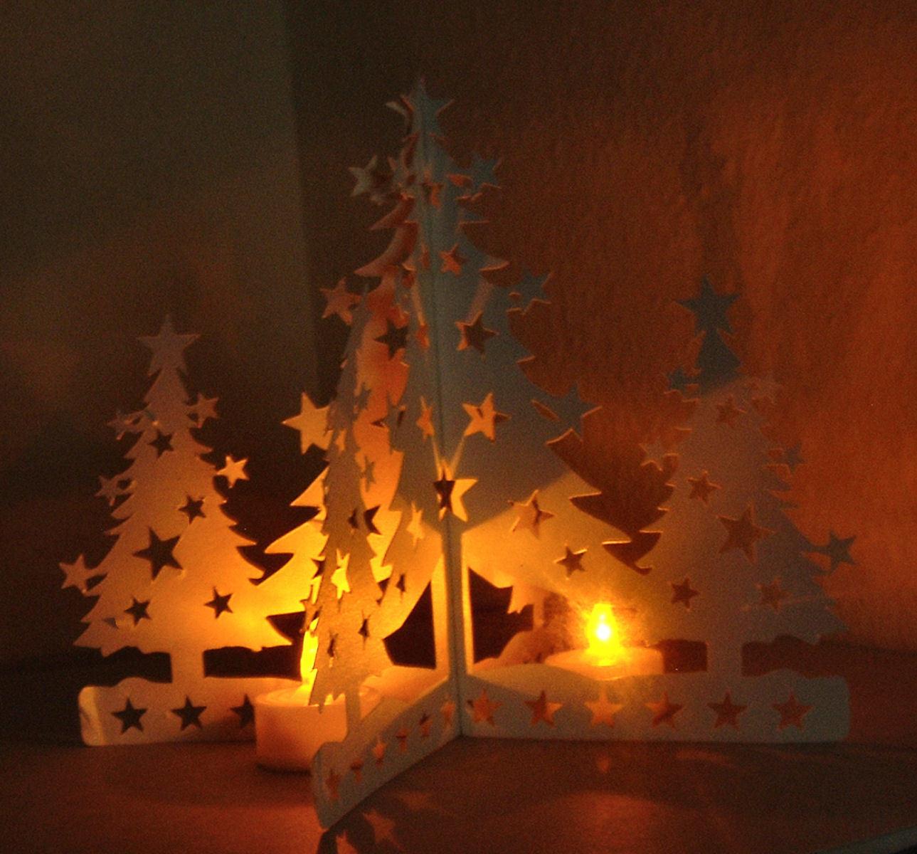 Christmas Tree Dual Purpose Template