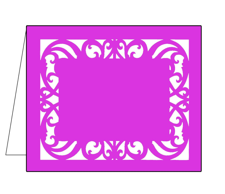 Filigree card 8