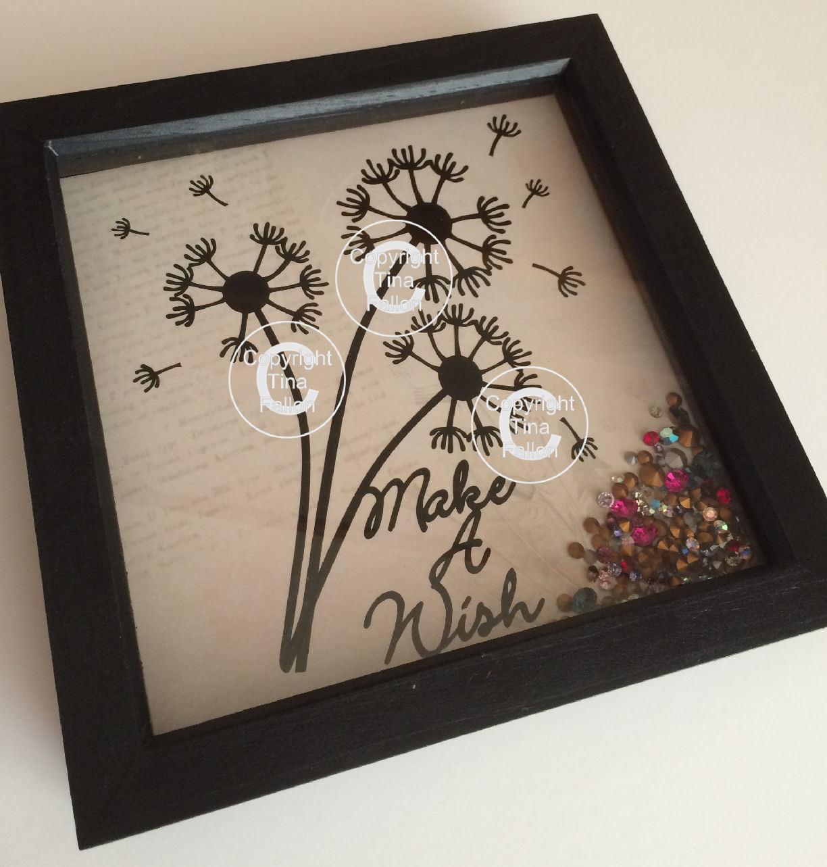 Dandelion Wishes  Word Art 2 FCM Scan N cut