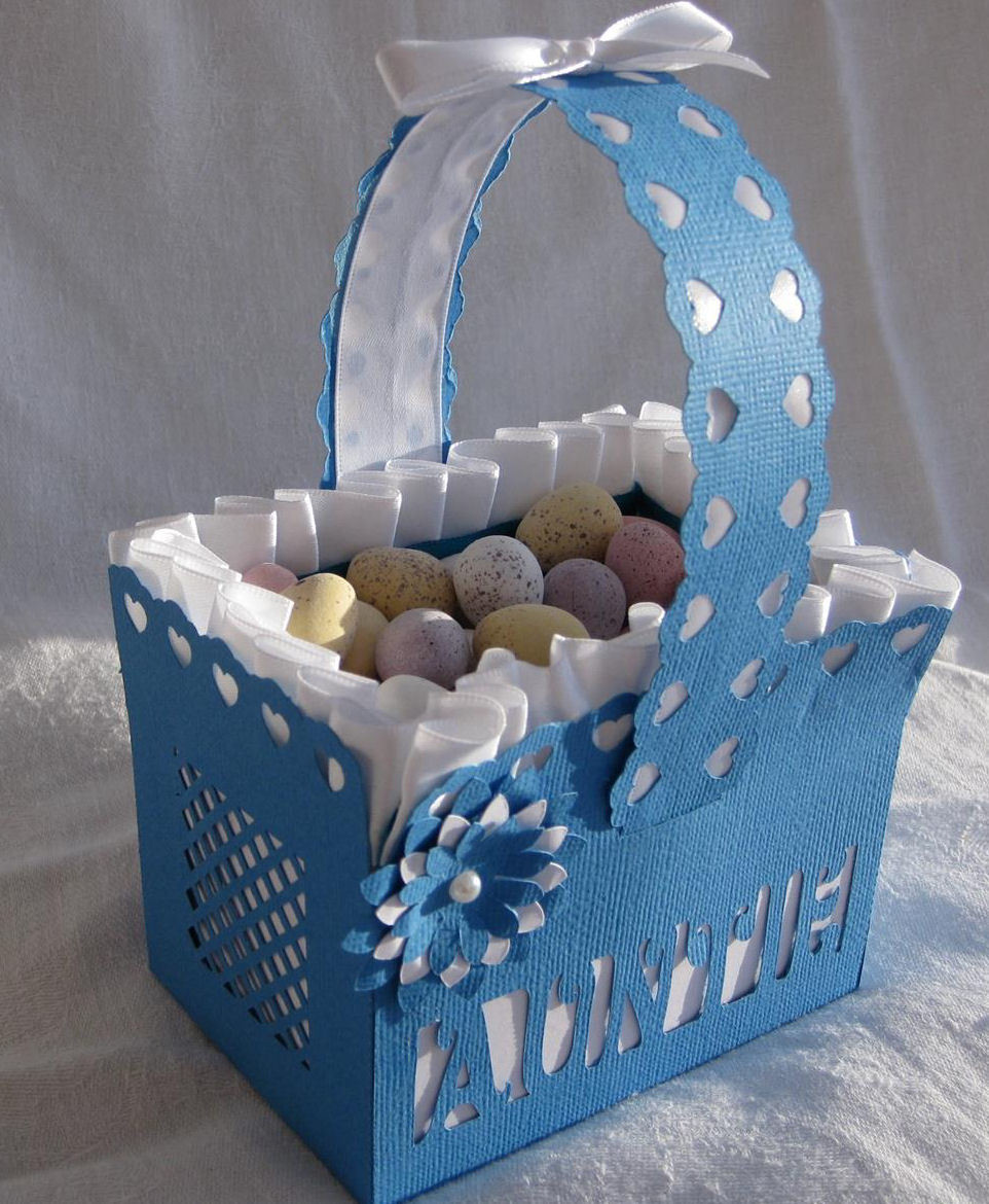 Auntie  Basket - includes a gift box to put it in