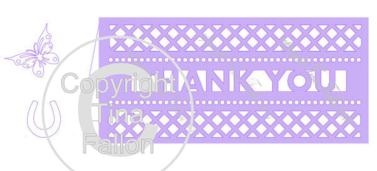 Thank You Card Template No5