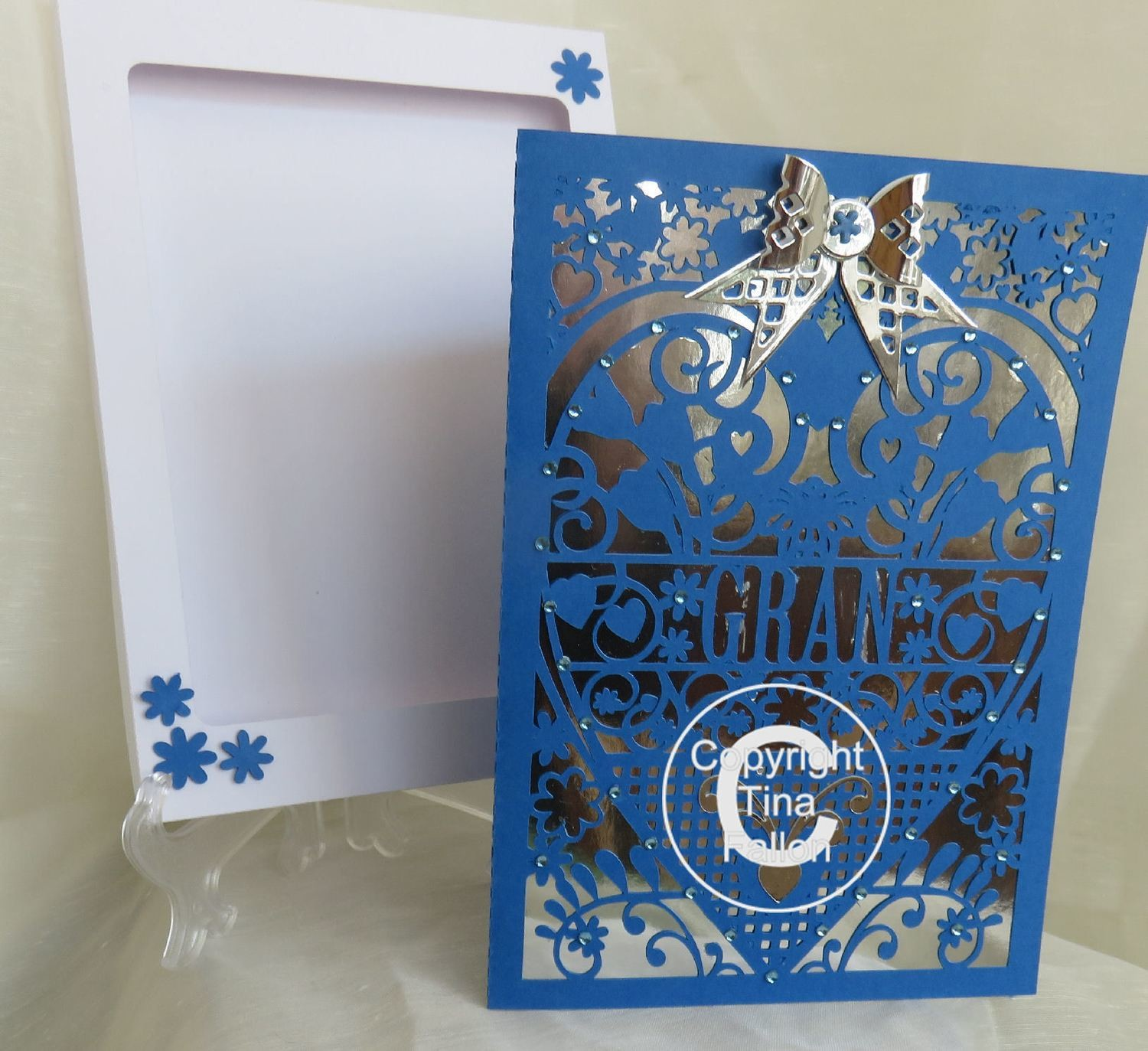 GRAN  Birthday Card (with box)  beautiful cutout design