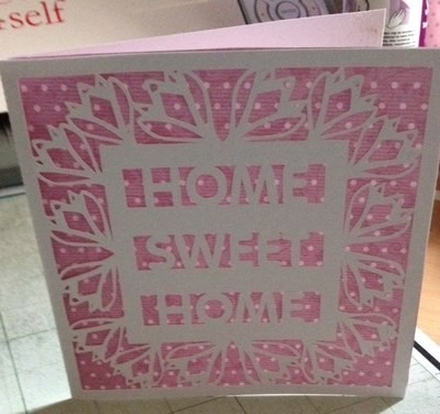 New Home Card Template No 7