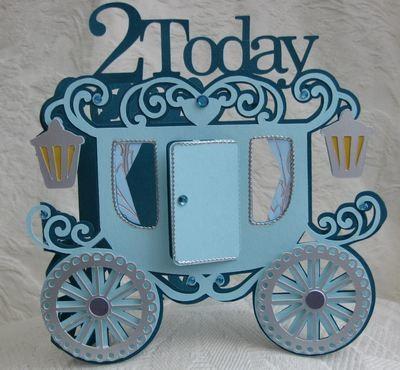 Princess Carriage 2 today Card Template