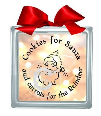 Cookies for Santa Vinyl design for Christmas