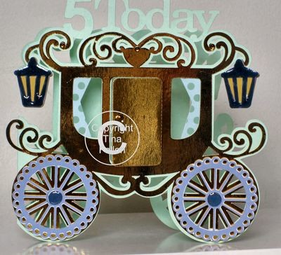 Princess Carriage 5 today Card Template