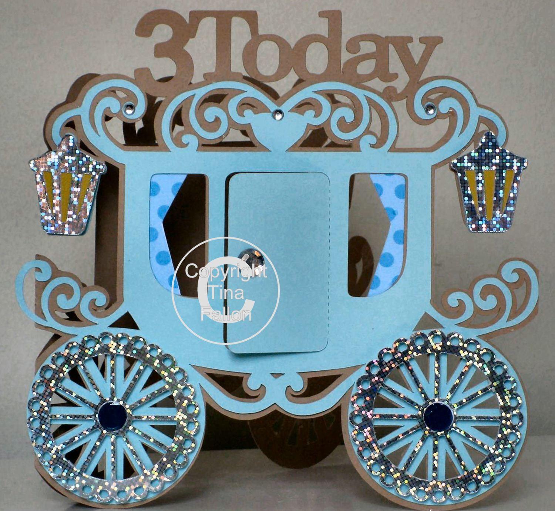 Princess Carriage 3 today Card Template