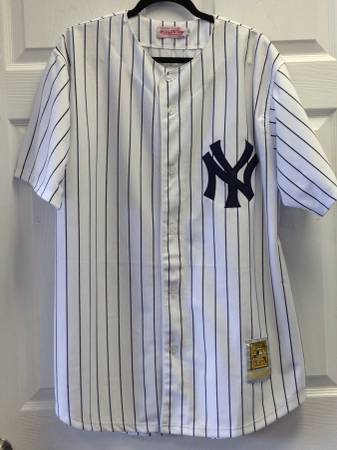 buy popular 4a1ca 70efc Babe Ruth Mitchell and Ness Yankees Jersey #3