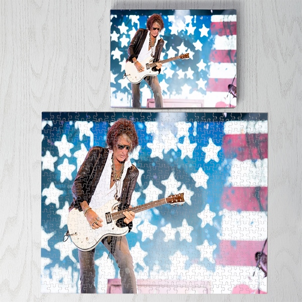 JOE PERRY JUMBO PHOTO PUZZLE 16X20 500 PIECE