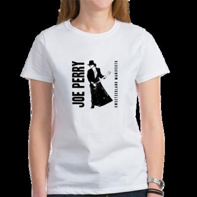 JOE PERRY SWEETZERLAND MANIFESTO WOMENS TEE