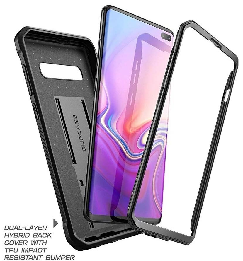 Case Galaxy S10 Plus SX Lite Negro Carcasa 360