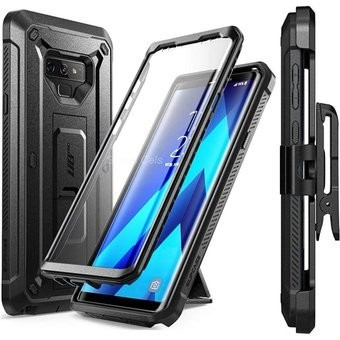 Case Galaxy Note 9 Carcasa 360 tapa arriba y tapa abajo c/ Parador c/ Gancho