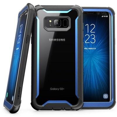 Carcasa Samsung Galaxy S8 + Plus i-Blason Ares USA Negro/Azul