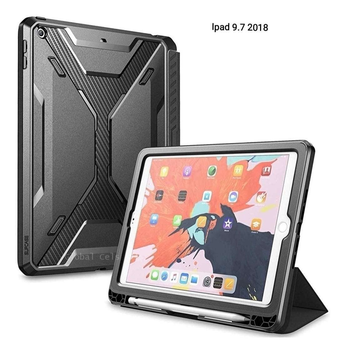 4415164a8aa Case Ipad 9,7 2018 Protector Flip Smart Funda 360° c/ Parador