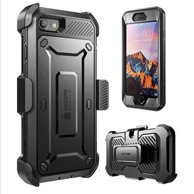 Case Iphone 8 Iphone 7 Funda 360 de Tapas c/ Mica c/ Gancho