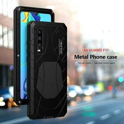 Case Huawei P30 Lite P30 Metal c/ Parador c/ Pernos c/ Tetra poliuretano