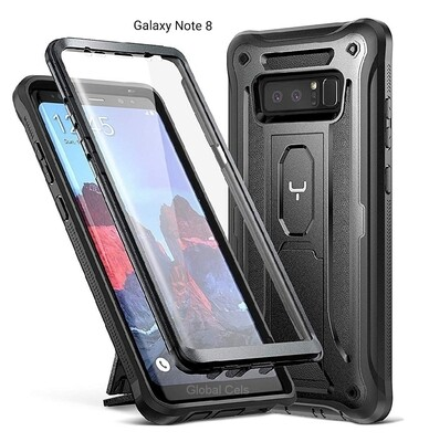 Case Galaxy Note 8 c/ Parador Inclinable c/ Mica Recios 360°