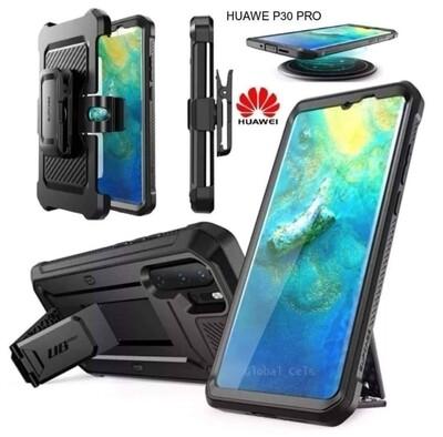 Case Huawei P30 Pro Armadura Super Protector c/ Parador c/ Mica c/ gancho para correa
