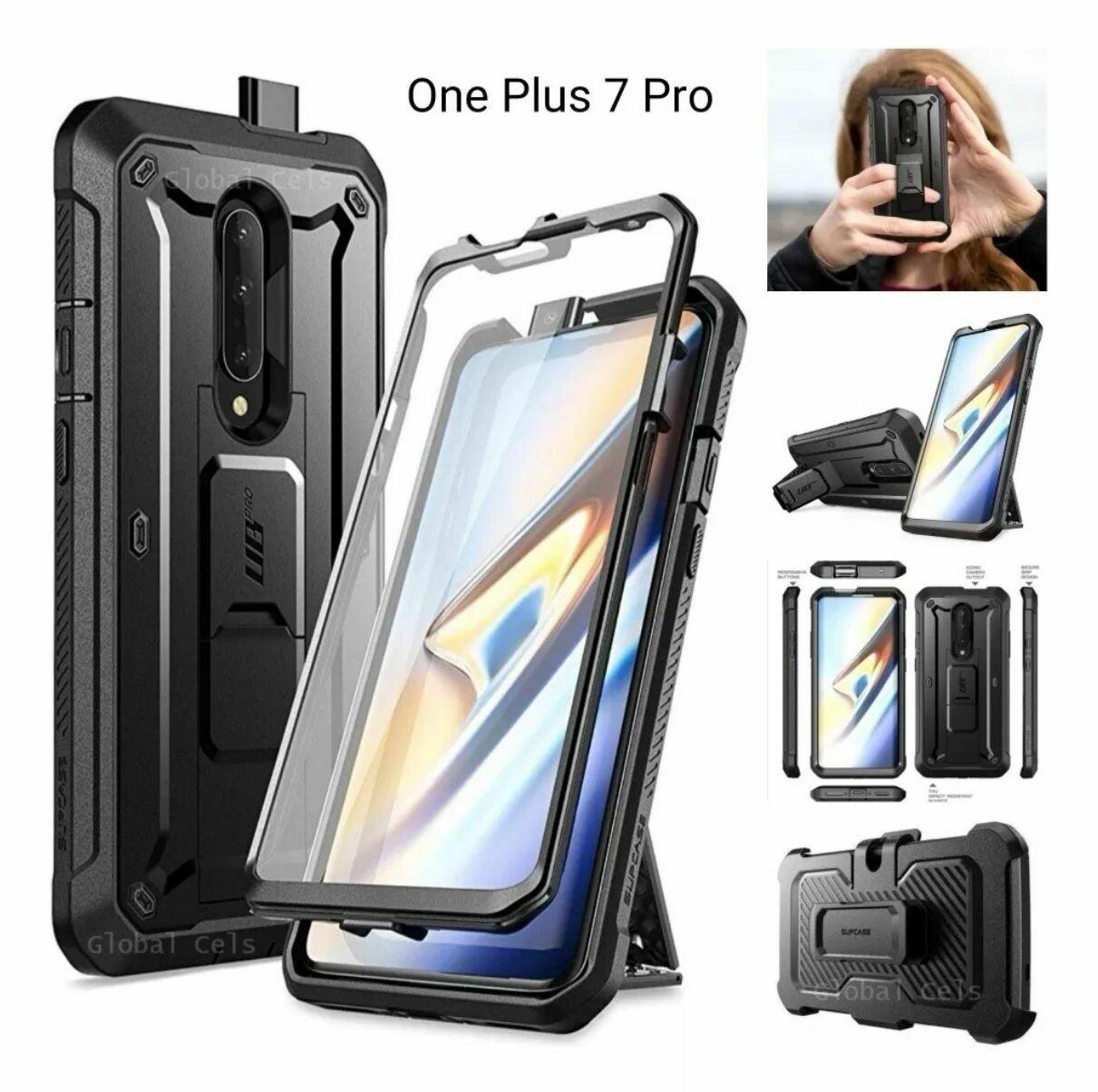 Case Funda One Plus 7 Pro Protector 360° c/ Parador c/ Gancho