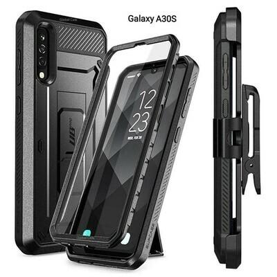 Case Galaxy A30S Protector c/ Clip Correa Gancho c/ Parador Integrado de Alta calidad