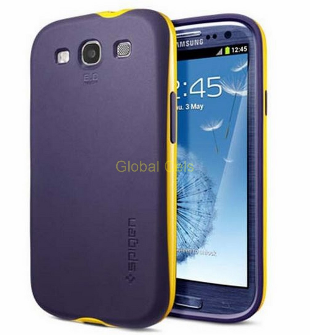 b17f3a7e0a7 Carcasa Case Estuche Funda Samsung Galaxy S3 de Marca SGP en Materiales TPU  + PC especiales