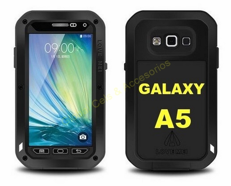 d541164c117 Case Protector LOVE MEI Samsung Galaxy A5 de Aluminio con Gorilla Glass ,  te da Protección Total !