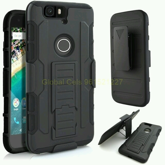 Case Huawei Google Nexus 6P holster Gorila con gancho para la correa y soporte 00105