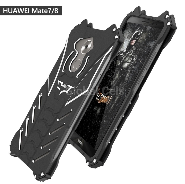 Case Metal Huawei Mate 7 / Mate 8 con Pernos atornillables RJUST BATMAN