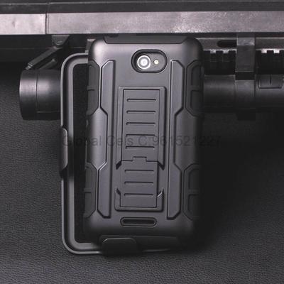 Holster Gorila Case Sony XPERIA E4 con soporte mesa y gancho para correa