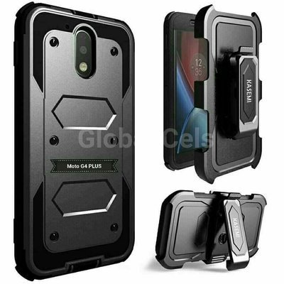 Case Extremo Motorola G4 Plus G4 + Clip + Parante Inclinable