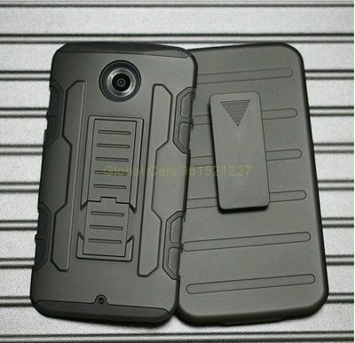 Case Motorola Google Nexus 6 con gancho y apoyo inclinable holster Gorila