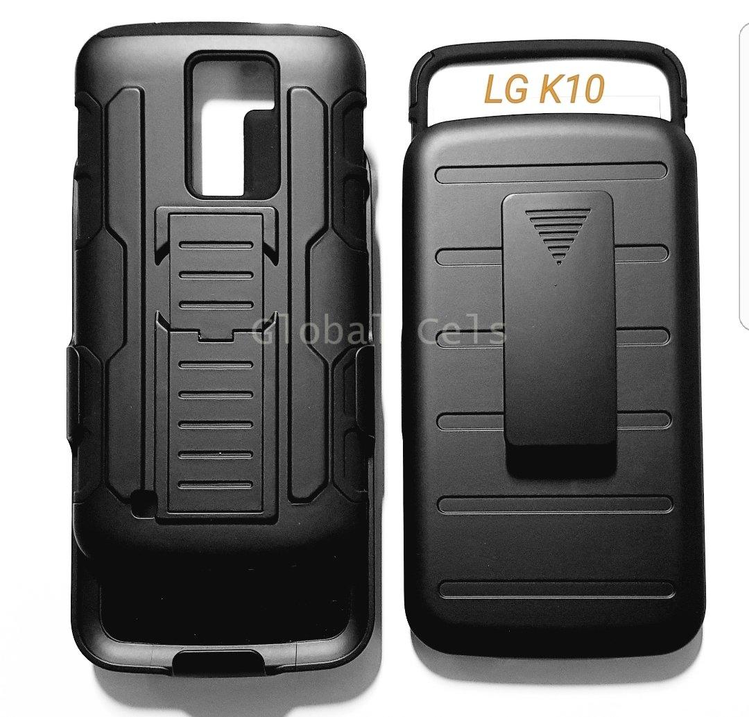 70a6b61ff7f Case Lg K10 K8 Clip Gancho Correa Holster Armor Gorila