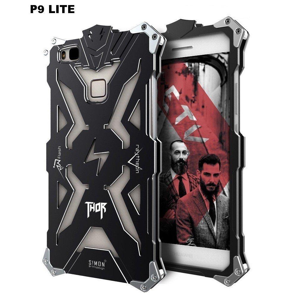 Case Funda Huawei P9 Lite THOR Carcasas de Metal con pernos atornillables 00180