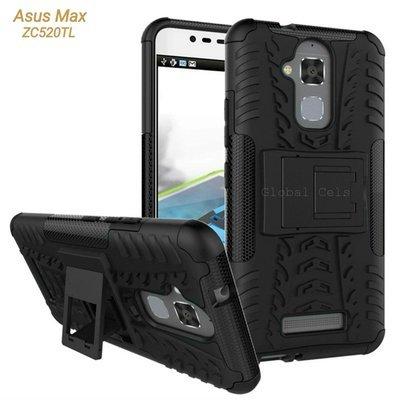 Case Asus Zenfone 3 ZC520TL Max 5.2 con parante Negra