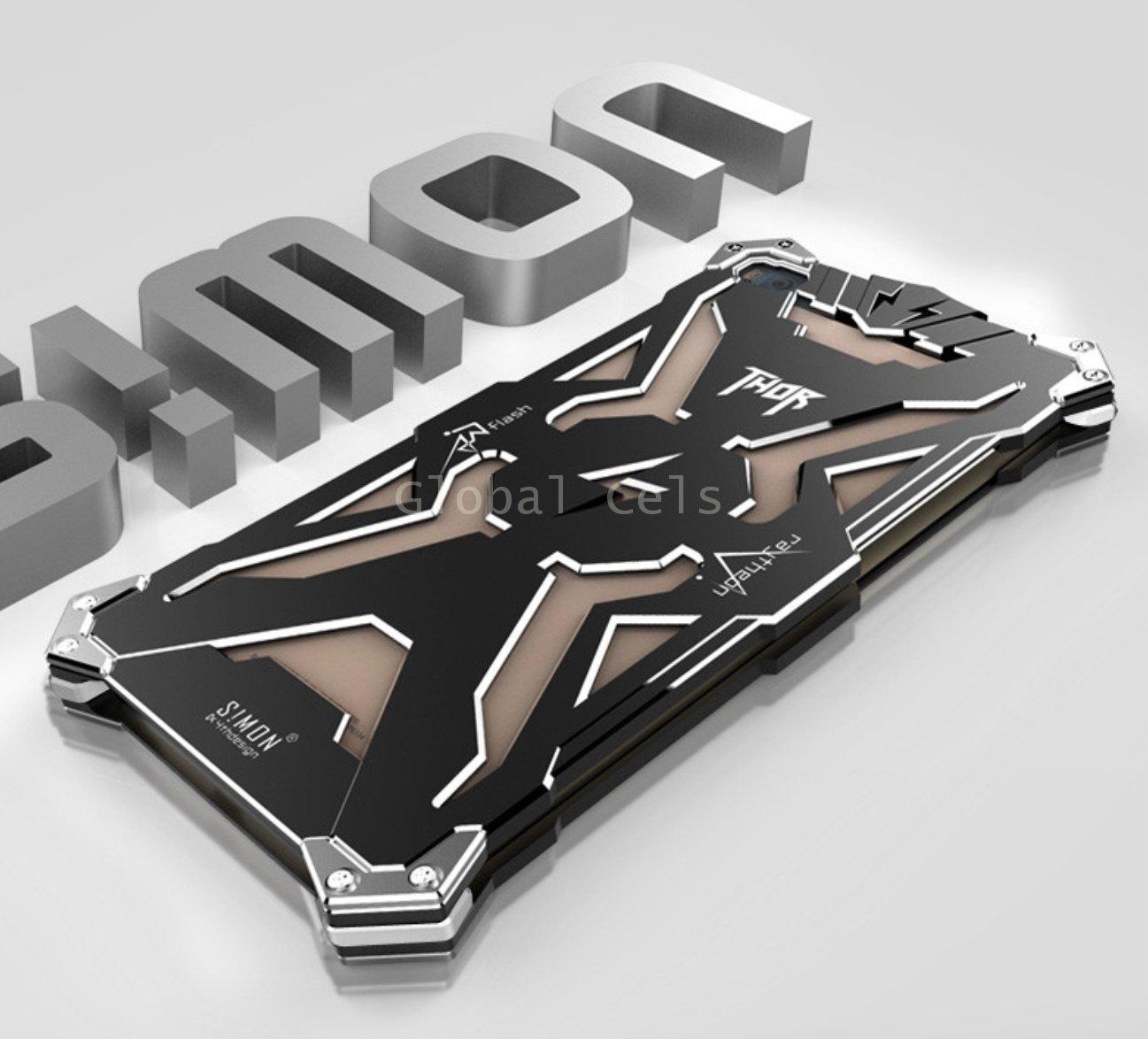 Carcasa Thor Huawei P8 Metal Protector con Pernos