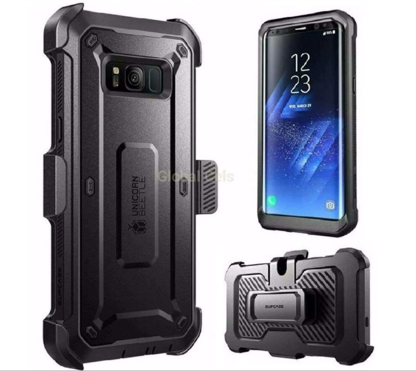 275b0acc891 Case Supcase Galaxy S8 Plus S8 Extremo Protector 360 c/ Gancho