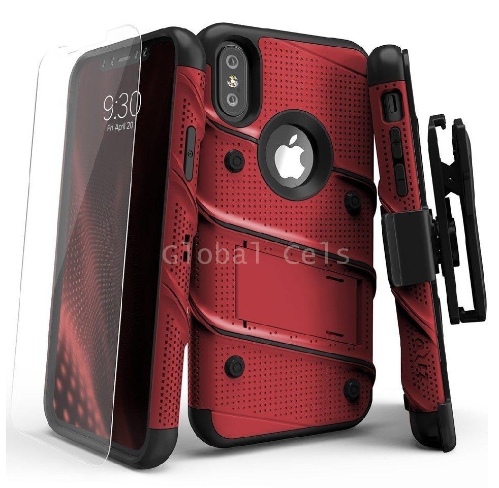 Case Iphone X Iphone 10 Carcasa con Vidrio Glass Zizo USA