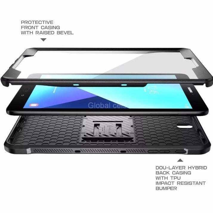 Case Galaxy Tab S3 de 9,7 Supcase Armadura con Parante