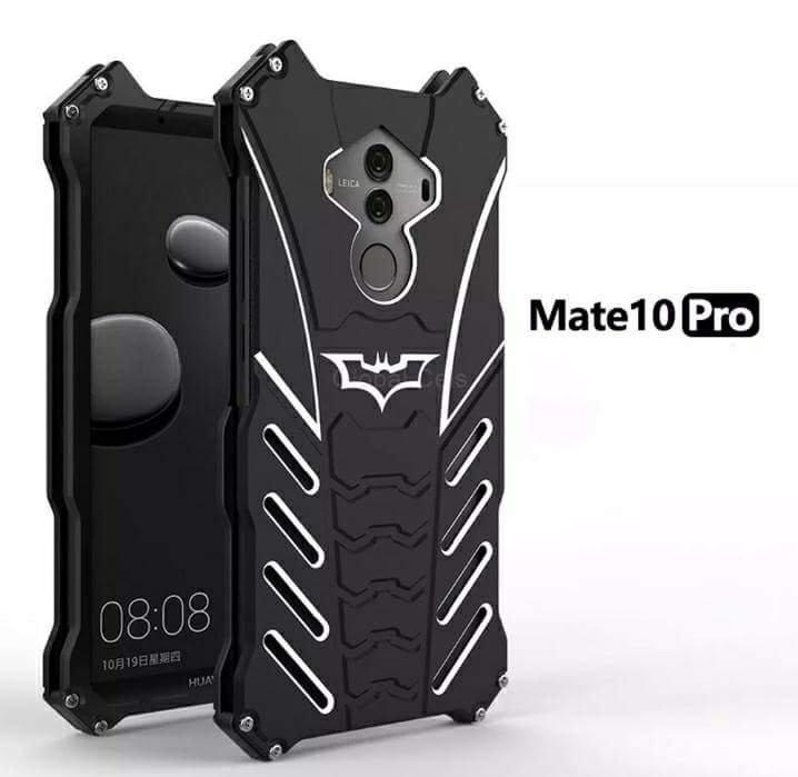 Case Metal Huawei Mate 10 Pro Batman Negro c/ Pernos 00269