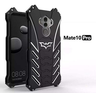 Case Metal Huawei Mate 10 Pro Batman Negro c/ Pernos